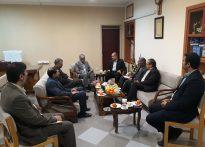 جلسه هماهنگی همایش گلریزان با مدیران صدا و سیمای مرکز همدان