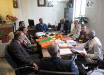 اولین جلسه هماهنگی هیئت امناء ستاد دیه جهت برگزاری همایش گلریزان ماه مبارک رمضان