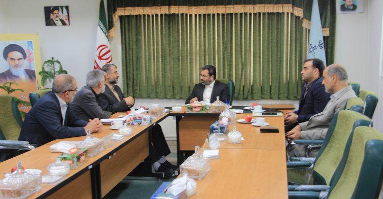 دیدار اعضای هیئت امنا ستاد دیه با رییس جدید دادگستری کل استان همدان