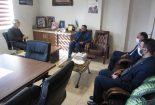 نشست مدیران بانک مهر اقتصاد با مدیر عامل ستاد دیه همدان